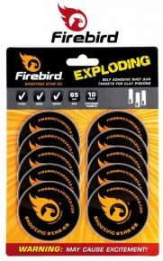 Firebird Shooting Star 65 Exploding Targets