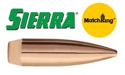 Sierra .30 Caliber/7.62mm 168 GR. HPBT Match Matchking Bullets