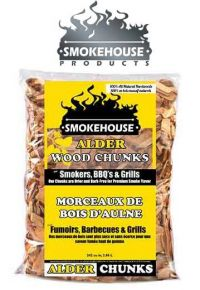 Smokehouse Alder Wood Chunks