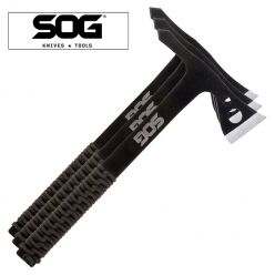 SOG 3 pack, Throwing Hawks with Sheath