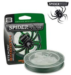 SPIDERWIRE STEALTH SMOOTH, 200 Yd, 15 lb Line
