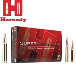 Munitions Superfomance 30-06 Sprg 180 gr. InterBond d'Hornady