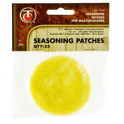 "Thompson-Center-Lubricated-2-1/2""-Seasoning-Patches"
