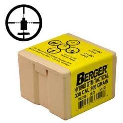 Boulets-30/.308''-CAL.-Jugger-OTM-185gr-Berger-Bullets