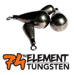 47th Element Tungsten Teardrop Eyed