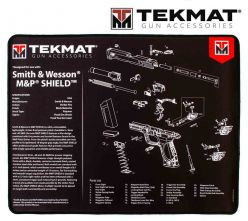 Tekmat-Smith-&-Wesson-M&P-Shield-Ultra-Premium-Gun-Cleaning-Mat