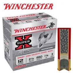 "Winchester Super-X 12 ga. 2-3/4"" Shotshells*"