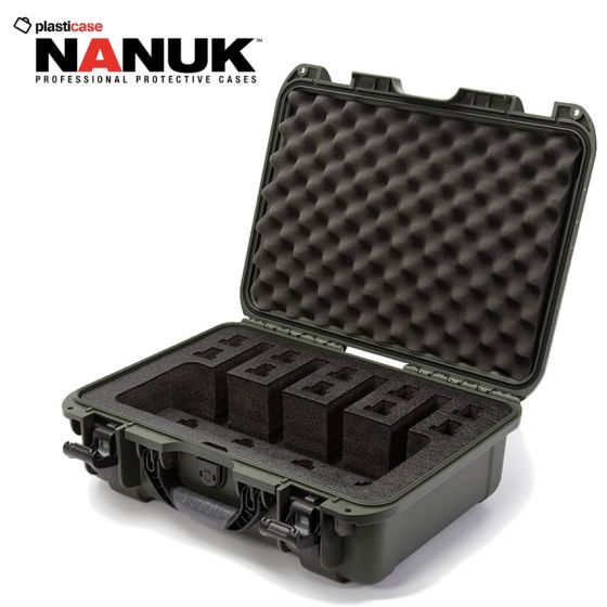 Nanuk-925-4UP-Pistol-Case-Olive