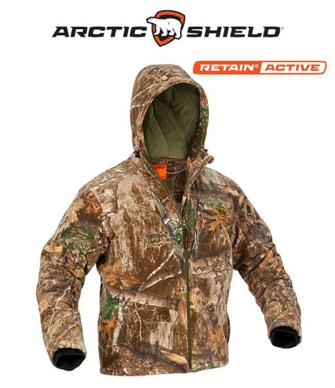 Arctic Shield Heat Echo Sherpa Jacket Realtree Edge