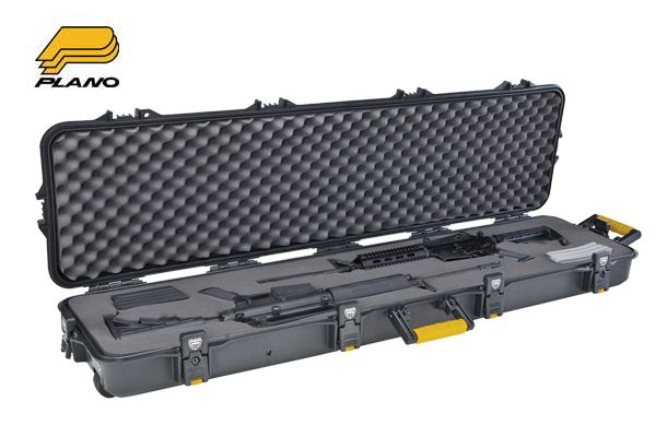 Plano Double Scoped Rifle/Shotgun All Weather Case with Wheels