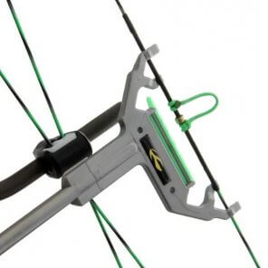 Sauders Bow Square Fork Horn - Londero Sports